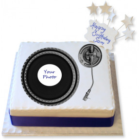 Turntable Photo Cake
