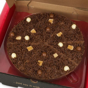 Heavnly Honeycomb - With Fudge And Chocolate Rice Balls (10 inch)