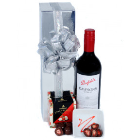 Send The Red - Wine & Chocolate Hamper