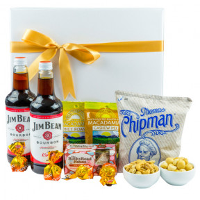 Bourbon And Bites - Gourmet Gift Hamper