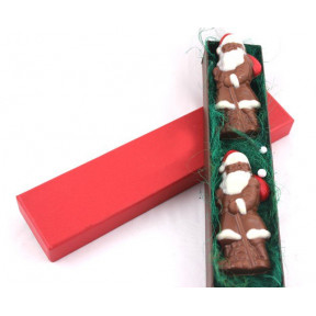 Mini Santa Milk chocolate box
