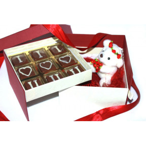 Double Deck Chocolate Box to say