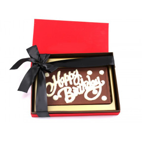 Personalised Birthday Greetings in a box