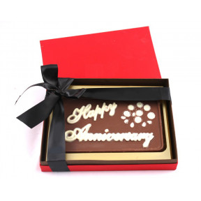 Personalised Happy Anniversary in a box