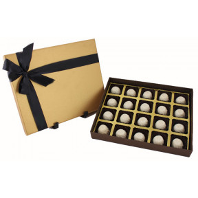 Box of 20 white chocolate Delight