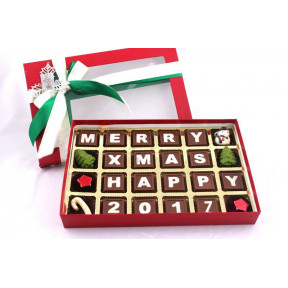Seasons most popular chocolate Box with the message