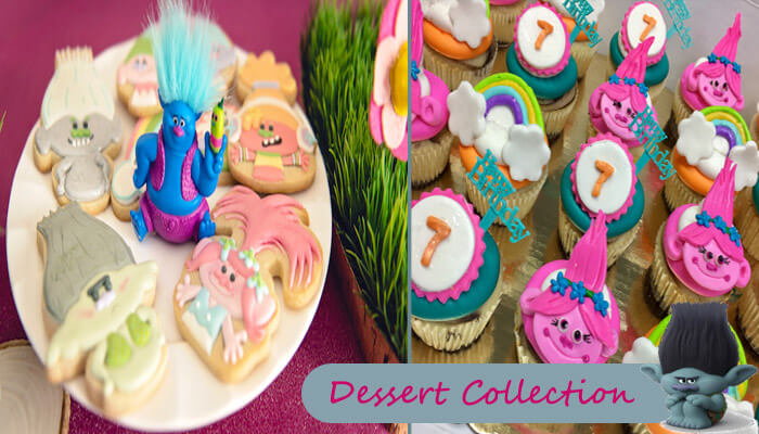 Trolls Party Dessert Collection