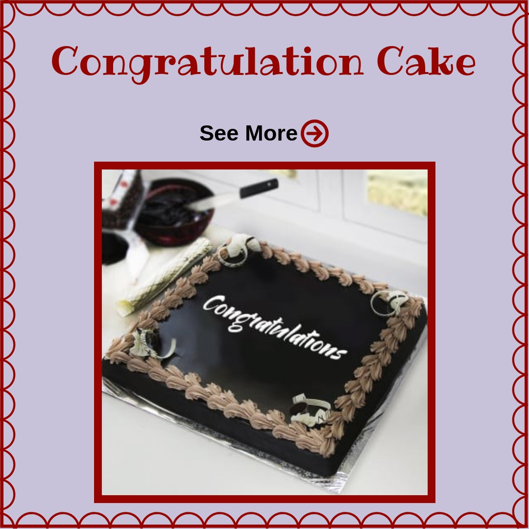 Congratulations Cake Delivery