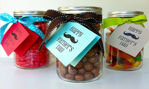 Father's Day Candy Jar for dad